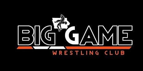 Big Game Wrestling Club Banquet/Fundraiser 21 tickets
