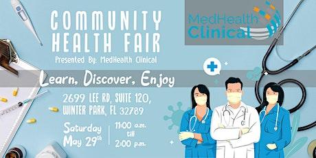 Community Health Fair/ Senior Health Expo Presented by MedHealth Clinical tickets