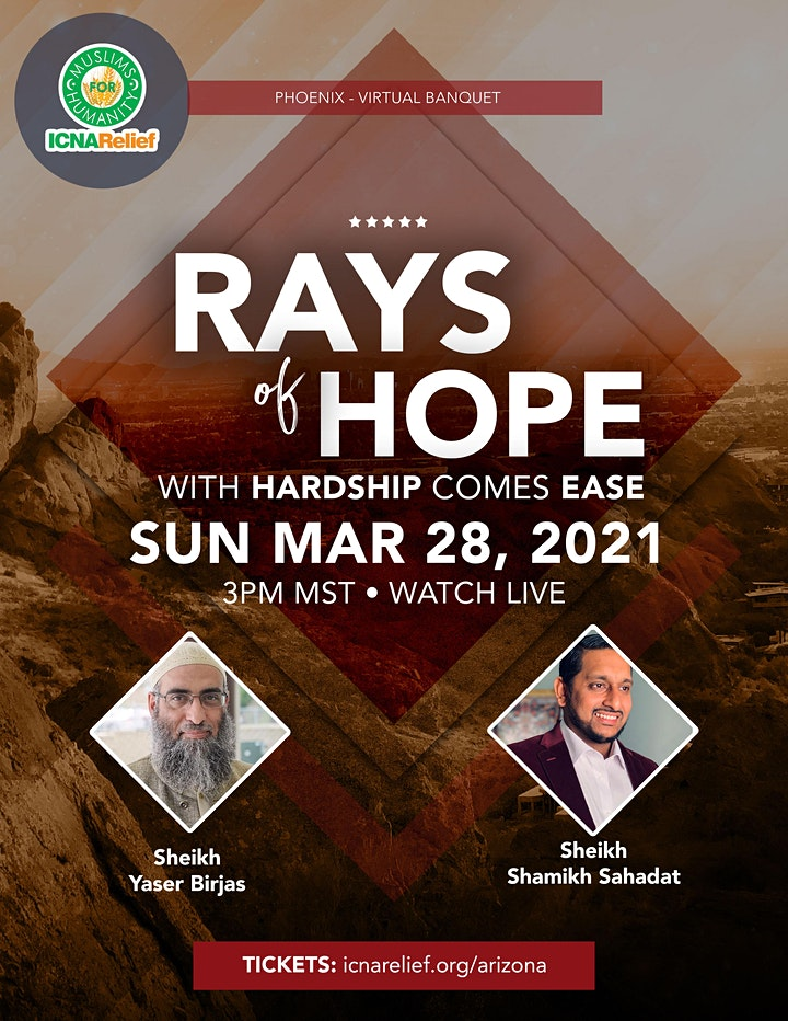 Rays  of Hope:  With Hardship Comes Ease - Phoenix image