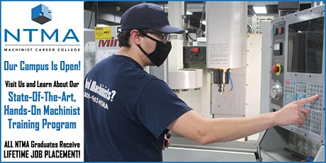 April Open House - Machinist Training Open Enrollment Event tickets