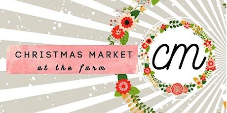 Christmas Market at the Farm 2021 tickets