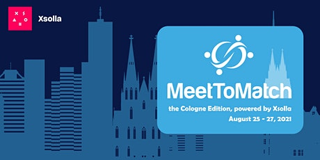 MeetToMatch - The Cologne Edition 2021 tickets