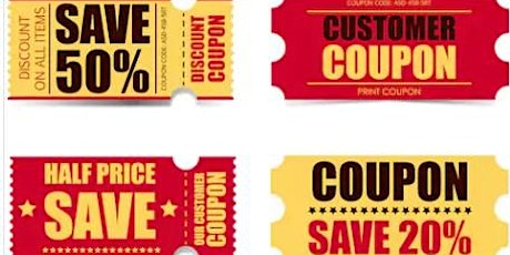 4 Strategies To Coupon Like A Pro Online Workshop tickets