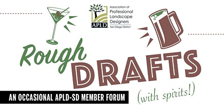 APLD San Diego Rough Drafts- Let's Talk Plants: Slopes! tickets