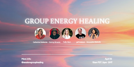 Group Energy Healing for EASE and releasing ANXIETY tickets