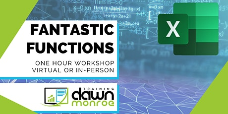 Excel Fantastic Functions tickets