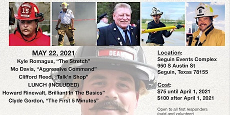 FCC-FIGHTING COVID CONFERENCE FIREFIGHTER BENEFIT tickets