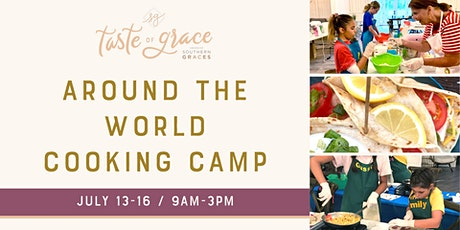 Around the World Cooking Day Camp  |  July 13-16 (ages 9-14) tickets