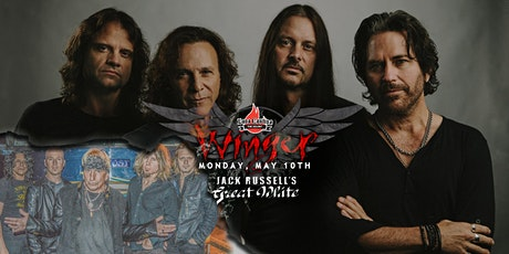 Winger with Jack Russell's Great White tickets