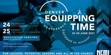 Denver Equipping Time tickets