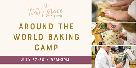 Around the World Baking Day Camp     July 27-30 (ages 9-14) tickets