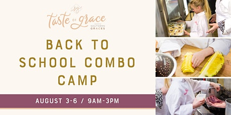 Back to School Combo Day Camp     August 3-6 (ages 7-14) tickets