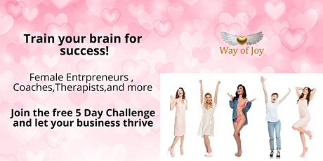 Female Entrepreneurs Train your brain for success tickets