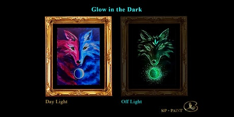 Sip and Paint (Glow in the Dark): Spirit of Fox (8pm Sat) tickets