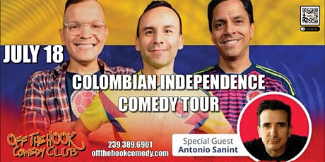 Colombian Independence Comedy Tour live in Naples, Florida tickets