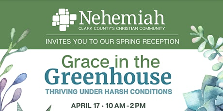 Grace in the Greenhouse: Thriving Under Harsh Conditions tickets