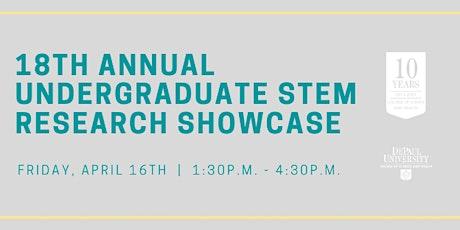 18th Annual Undergraduate STEM Research Showcase tickets