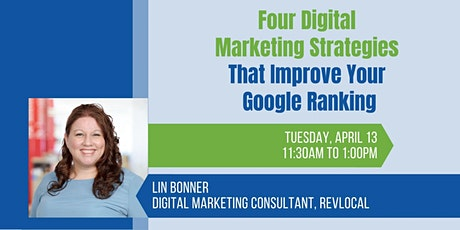 4 Digital Marketing Strategies that Improve Your Nonprofit's Google Ranking tickets