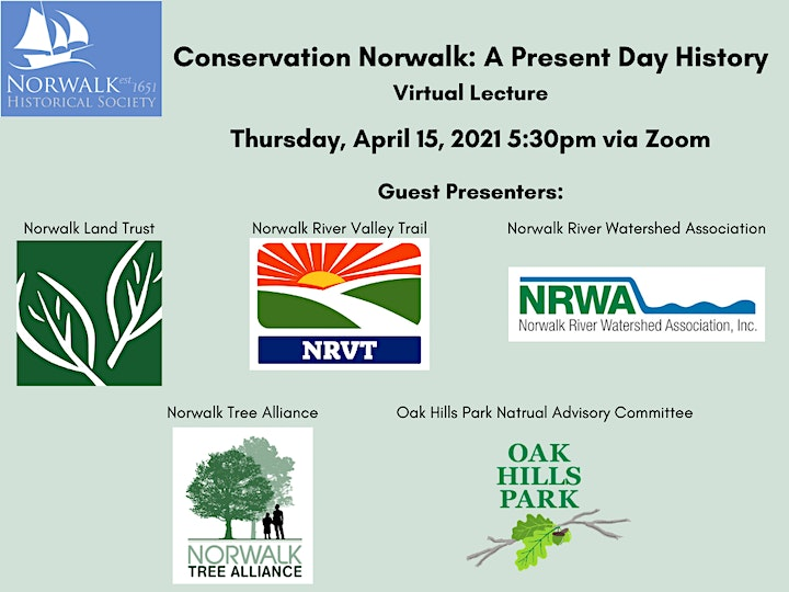 Conservation Norwalk: A Present Day History - Virtual Lecture image