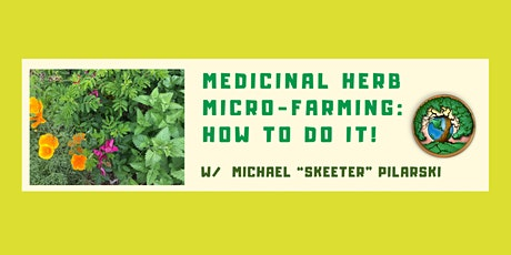 Medicinal Herb Micro-Farming Workshop - Chimacum, WA tickets