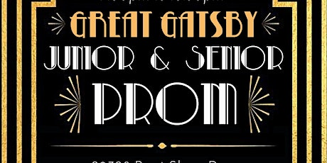 Great Gatsby Junior/Senior Prom tickets