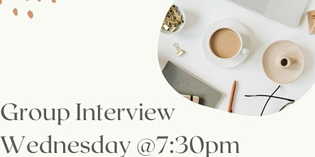 Group Interview tickets