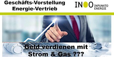 Geschäftsvorstellung Energievertrieb Tickets