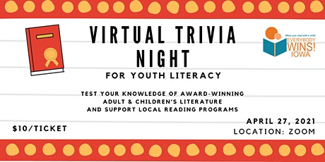 Virtual Trivia Night For Youth Literacy tickets