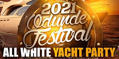 2021 Odunde Festival All White Yacht Party tickets