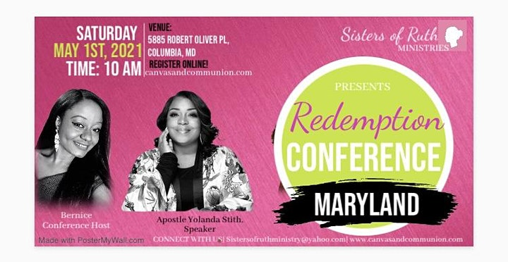 Redemption Conference 2021: Maryland  image