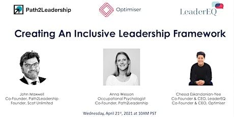 Inclusive Leadership - Hosted by Path2Leadership, LeaderEQ & Optimiser tickets