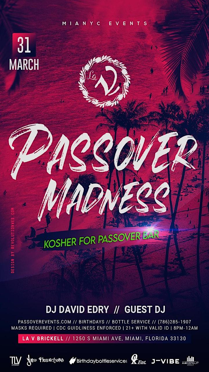 LA V Club - 2021 Miami Passover Party image