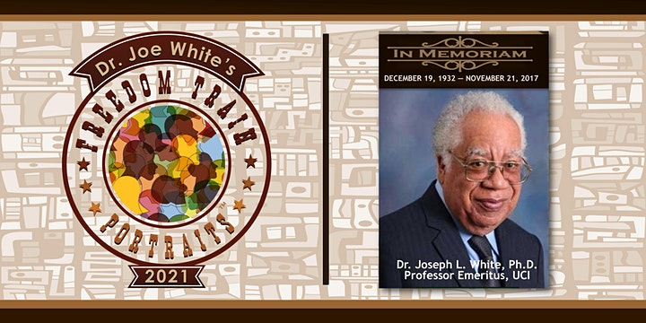 2nd Annual Freedom Train Portraits: Dr. Joe White Mentoring Scholars 2021 image