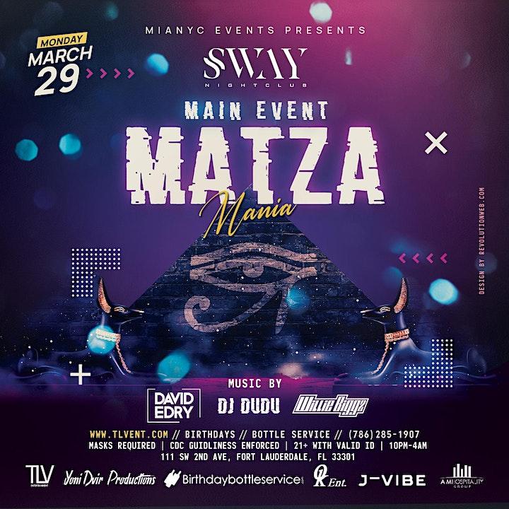 SWAY Night Club - 2021 Miami Passover Party image