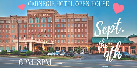 Carnegie Hotel Open House w/StudioWed Tri-Cities tickets