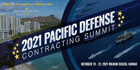 2021 Pacific Defense Contracting Summit tickets