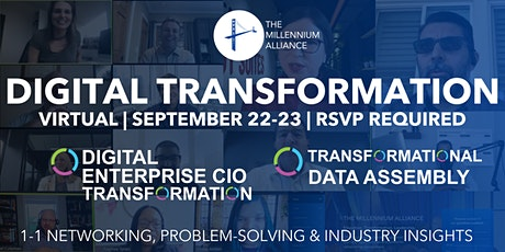 Digital Enterprise CIO & Data Transformation tickets