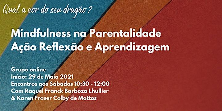 Imagem do evento Mindfulness na parentalidade . Grupo online DARLing