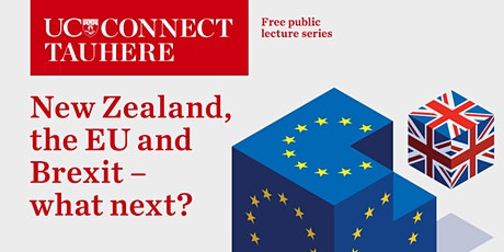 UC Connect public lecture – New Zealand, the EU and Brexit: What next? tickets