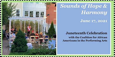"Sounds of Hope & Harmony: Juneteenth Celebration  - ""Day of Jubilee!"" tickets"