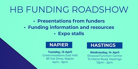 Hawke's Bay Funding Roadshow - Hastings tickets