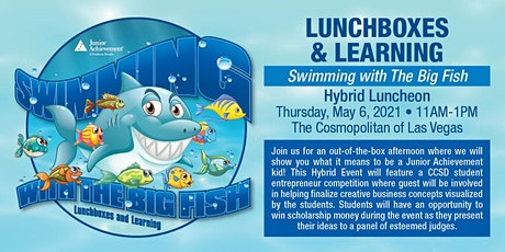 LUNCHBOXES & LEARNING SWIMMING WITH THE BIG FISH HYBRID LUNCHEON tickets