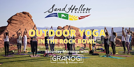 Morning Yoga Outside at the Sand Hollow Resort Rock Bowl tickets
