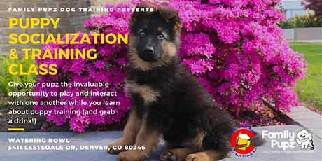 Puppy Socialization & Training Class at the Watering Bowl tickets