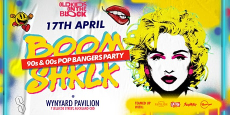 BOOMSHKLK! 90s & 00s Bangers Party | 17 APR at Wynyard Pavilion tickets