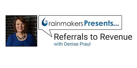 Referrals to Revenue tickets