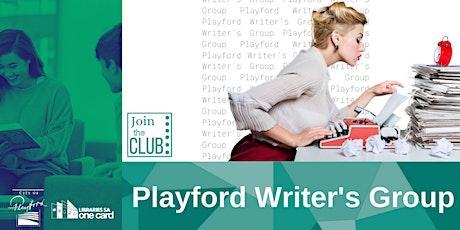 Playford Writer's Group tickets