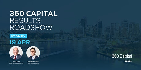 360 Capital Results Roadshow - Sydney tickets