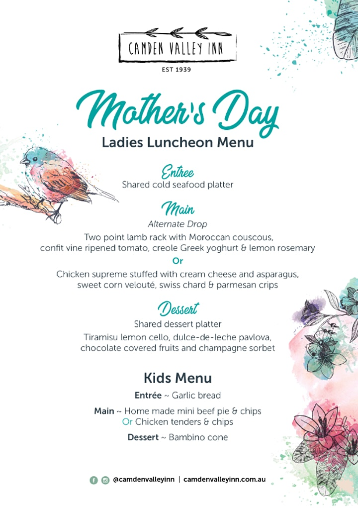 Mother's Day Luncheon image