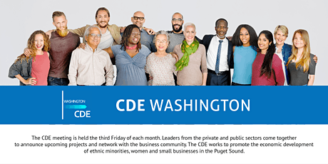 CDE Washington Online Team  Meeting 2021 tickets